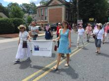 Fourth of July 2017 in Shelburne Falls, MA