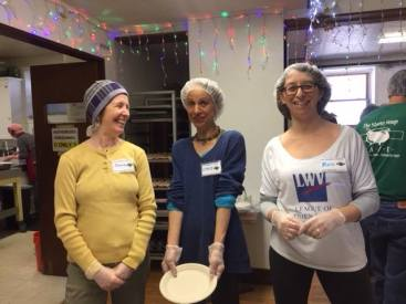 April 2018, Day of service at Stone Soup Café